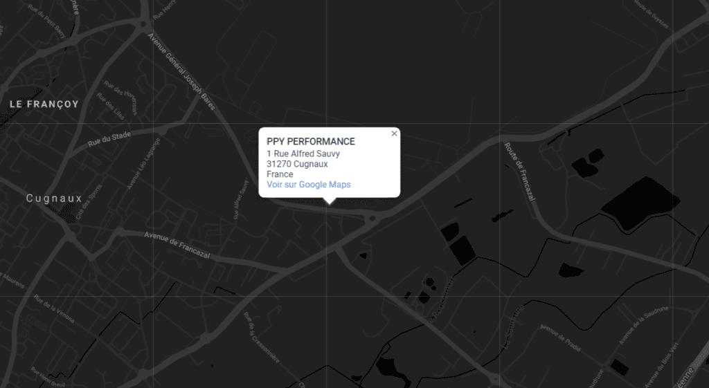 adresse map ppy