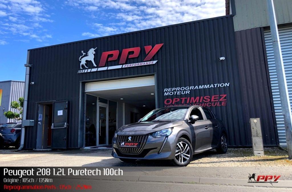 Peugeot 208 1.2L Puretech 100ch
